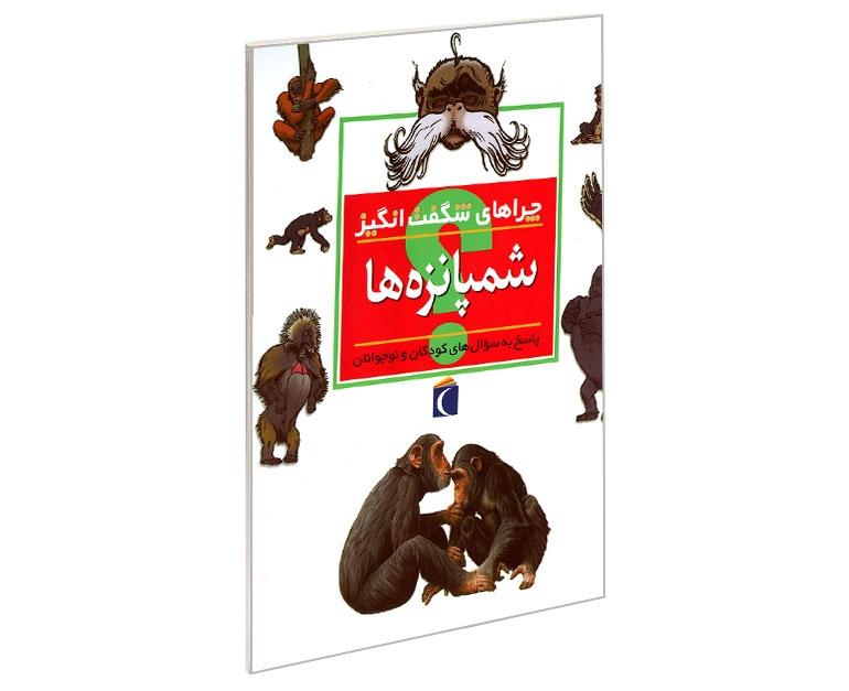 چراهای شگفت انگیز شمپانزه ها نشر محراب قلم